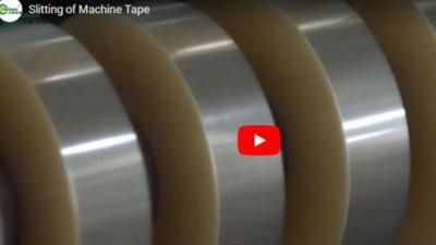 Slitting of Machine Tape