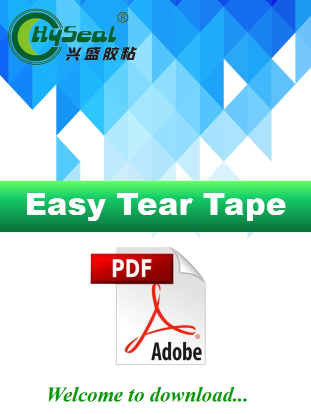 Easy Tear Tape