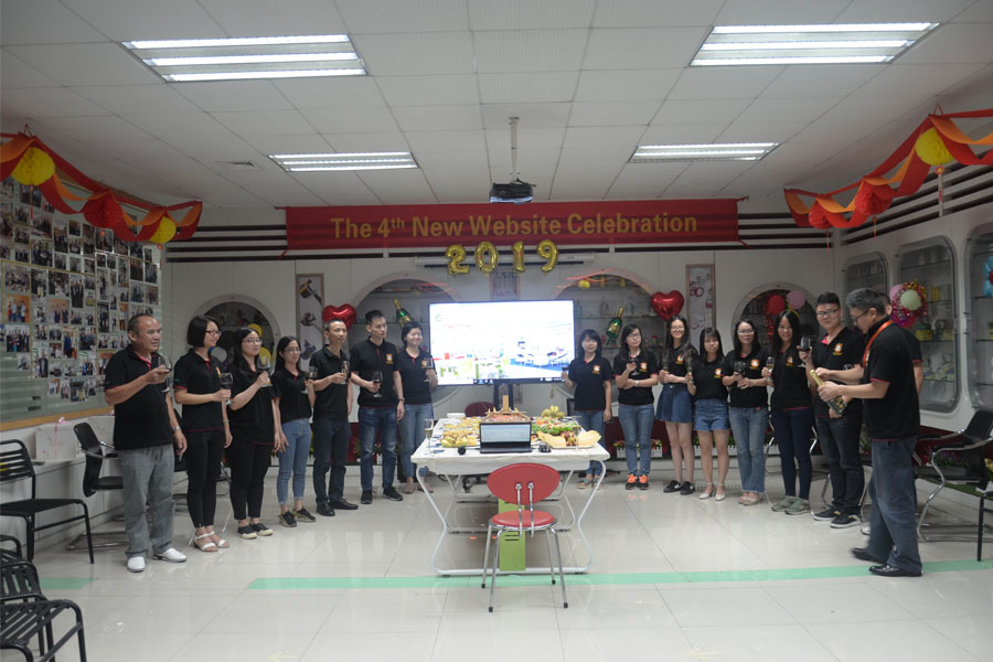 celebration of the 4th new website of Hyseal